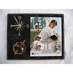 Carl Yastrzemski Legends of Baseball Wall Clock