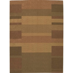 Nourison Gold Wool Rug (3'6 x 5'6)