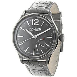 Haurex Italy Men's Grand Class Grey Watch|https://ak1.ostkcdn.com/images/products/P12315051.jpg?impolicy=medium