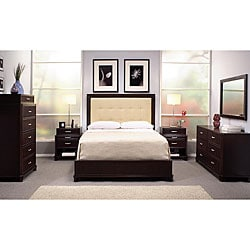 Manhattan 5 Piece Queen Sized Bedroom Set Free Shipping Today 12315077