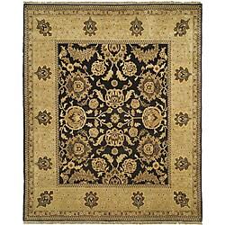 Oushak Hand-spun Wool Tabaz Rug (8' x 10') (China)