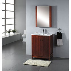 Contemporary 27 Inch Bathroom Vanity