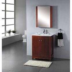 Nice Contemporary 27 Inch Bathroom Vanity