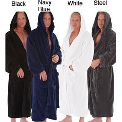 Shop Alexander Del Rossa Men s Fleece Hooded Bathrobe - Free ... 284ff09ad