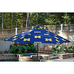University of Michigan 9-foot Market Umbrella