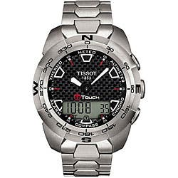 Tissot Men's T-Touch Chronograph Watch|https://ak1.ostkcdn.com/images/products/P12329977.jpg?impolicy=medium