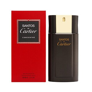 Cartier Santos de Cartier Men's 3.3-ounce Eau de Toilette Concentrated Spray