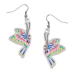 Ed Hardy Butterfly Dangling Earrings
