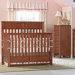 Shop Bassett Baby River Ridge Cherry 4 In 1 Crib Free