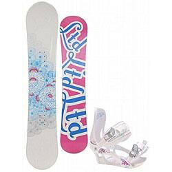 Shop Black Friday Deals On Ltd Belle 149 Cm Women S Snowboard With Ltd Lt150 Bindings Overstock 4373960