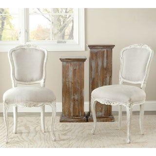Safavieh Old World Dining Provence Antiqued French Dining Chairs (Set of 2)