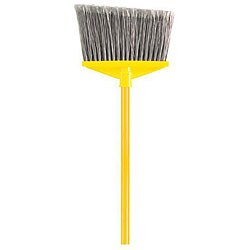 Rubbermaid Commercial Yellow/ Grey Angled Large Broom