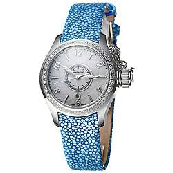 Hamilton Women's Navy Seaqueen Steel Diamond Blue Strap Watch|https://ak1.ostkcdn.com/images/products/P12349179.jpg?impolicy=medium