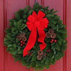 Classic Fresh-cut Maine Balsam 24-inch Wreath|https://ak1.ostkcdn.com/images/products/P12349261.jpg?impolicy=medium