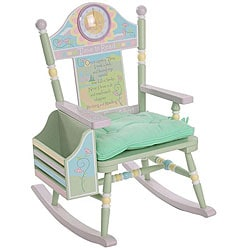 Time to Read Girl's Rocking Chair