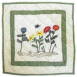 Wildflower Throw Pillows (Set of 2)