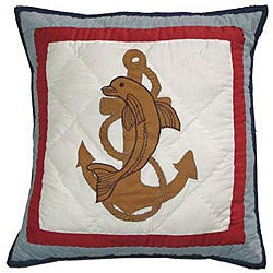 Thumbnail 1, Ships Ahoy 16-inch Throw Pillows (Set of 2).