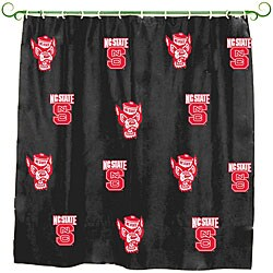 North Carolina State 'Wolfpack' Shower Curtain