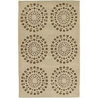 Hand-tufted Vente New Zealand Wool Area Rug (9' x 13')