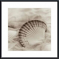 Alan Blaustein 'La Mer 3' Metal Framed Art Print