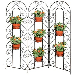 Deer Park Ironworks 7-pot Screen Planter
