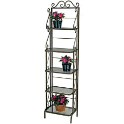 Deer Park Ironworks Skinny Bakers Rack