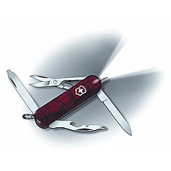 Swiss Army 'Midnight Manager' 10-tool Red Pocket Knife - Thumbnail 0