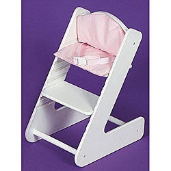 Shop Badger Basket Co Swedish Style Doll High Chair