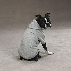 Basic Grey Dog Hoodie