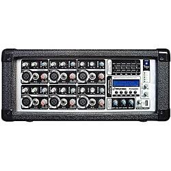 PylePro PMX602M 6-channel 600 Watts Powered Mixer w/ MP3