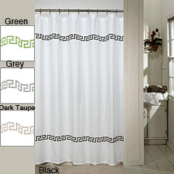 Linen Voile Curtain Fabric Kitchen Shower Curtain