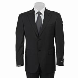 Austin Reed Men S Solid Charcoal Grey Suit Overstock 4427721