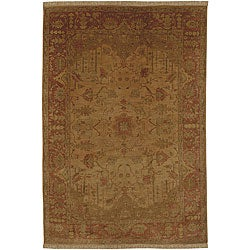 Hand-knotted Istanbul New Zealand Wool Area Rug (9' x 13') - Thumbnail 0