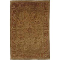Hand-knotted Istanbul New Zealand Wool Area Rug (9' x 13')