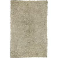 Hand-woven Olympus New Zealand Felted Wool Area Rug (5' x 8')