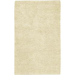 Hand-woven Ivory Wool Olympus Rug (2'6 x 8')