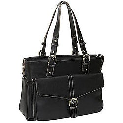 Heritage Executive Business Leather Laptop Tote