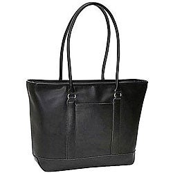 Heritage Womens Leather Laptop Tote - Thumbnail 0