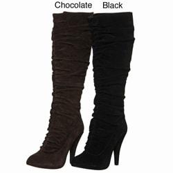 Kelsi Dagger Women's 'Iona' Knne-high Scrunch Boots - Thumbnail 0