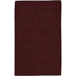 Hand-woven Olympus Felted New Zealand Wool Rug (2'6 x 8')