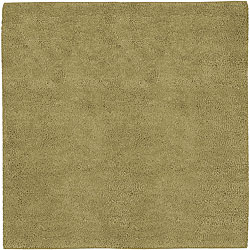Hand-woven Olympus New Zealand Wool Rug (8' Square)