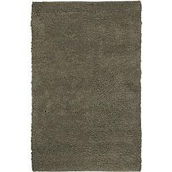 Hand-woven Olympus Felted Wool Rug (4' x 10')