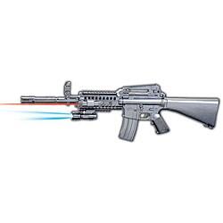 Spring M16B9 Assault Rifle Airsoft Gun - Thumbnail 0