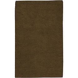 Hand-woven Olympus New Zealand Felted Wool Area Rug (4' x 10')
