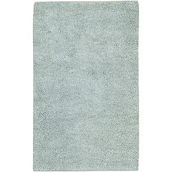 Hand-woven Olympus New Zealand Wool Rug (4' x 10')