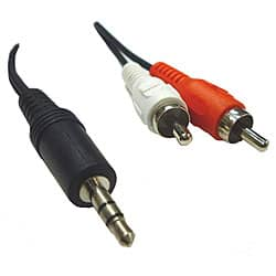 RCA Male to 3.5-mm Male Cable https://ak1.ostkcdn.com/images/products/P12407413.jpg?impolicy=medium
