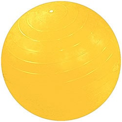 Cando Inflatable 59-inch Yellow Exercise Sensi-Ball