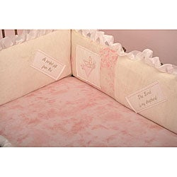 Cotton Tale Heaven Sent Girl Fitted Crib Sheet