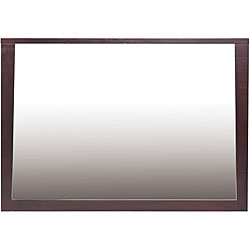 Tapered Frame Landscape Dresser or Wall Mirror