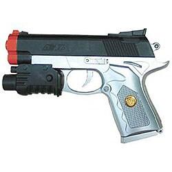 Lethal Weapon 150 Red Dot Laser Spring Airsoft Gun - Thumbnail 0